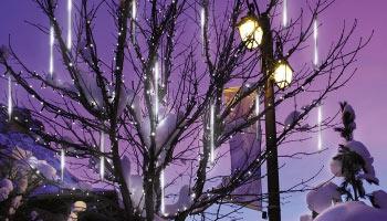 Снегопад Метеор (Капли/Snowfall)