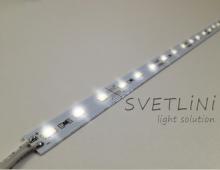 Светодиодная линейка SVT 5630 СWAP  на алюминиевой основе Гарантия 12 мес.