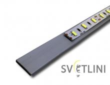 Алюминиевая полоса PL001 20мм
