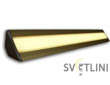 """Профиль """"Светящийся плинтус""""  для светодиодной ленты SVT PL016"""