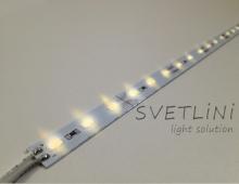 Светодиодная линейка SVT 5630WW AP  на алюминиевой основе Гарантия 12 мес.