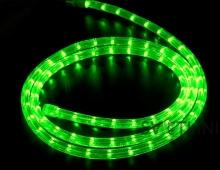 Дюралайт светодиодный, зеленый, 10 метров