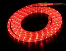 Дюралайт светодиодный, красный, 10 метров