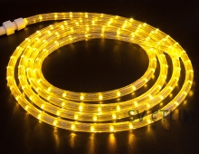 Дюралайт светодиодный, желтый, 100 метров