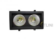 Светодиодный светильник врезной 36Вт