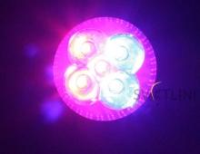 Светодиодная фито лампа e27 5Вт для растений