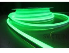 Гибкий неон, зеленый 12V