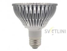 Светодиодная фито лампа e27 18Вт для растений