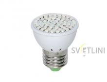 Светодиодная фито лампа e27 3Вт для растений