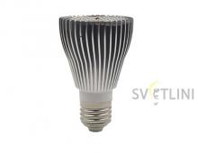 Светодиодная фито лампа e27 10Вт для растений
