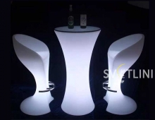 Светодиодное барное кресло