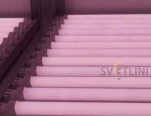 Светодиодная лампа Т8 600мм 9W Розовая (для мясных витрин)