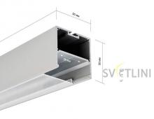 Профиль для светодиодной ленты PL008