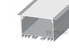 Профиль для светодиодной ленты ЛСВ40