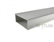 Профиль для светодиодной ленты PL013