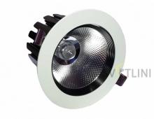 Светодиодный светильник врезной 30Вт