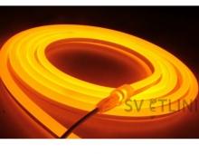 Гибкий неон, желтый  12V